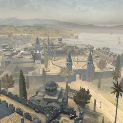 托普卡匹宫及其周边地区