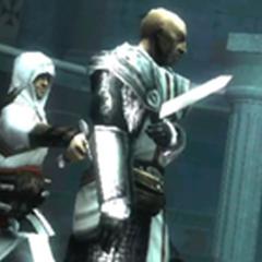 Altaïr tuant <b>Bouchart</b>