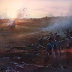 开拓地的战斗