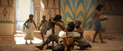 ACO Ambush in the Temple - Bayek Surrounded