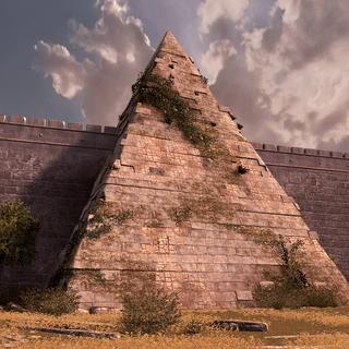 文艺复兴时期罗马的塞斯提乌斯金字塔