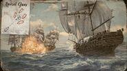 ACIV Black Flag immagine promozionale tattiche navali 1