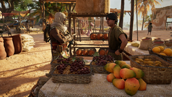 ACO Conflicts of Interest - Bayek speaking to merchant