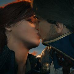 Un baiser échangé avec <a href=