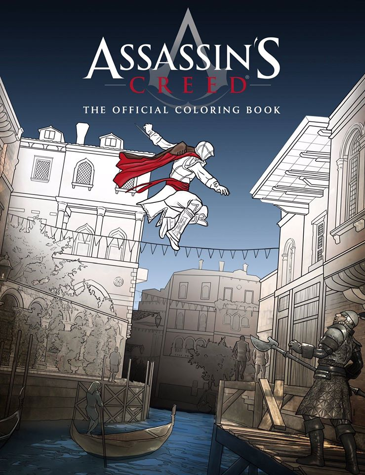 Assassin S Creed The Official Coloring Book Assassin S
