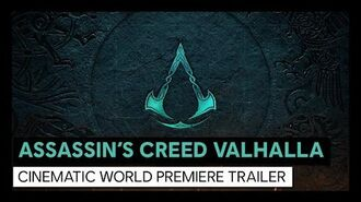 Assassin's Creed Valhalla Cinematic World Premiere Trailer
