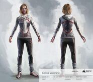 Galina Voronina without Hood - Concept Art