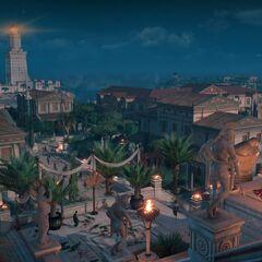 Alexandrie de nuit