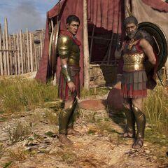 尼科拉欧斯与史坦托尔,在维奥蒂亚战争之后