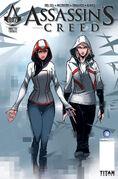 AC Titan Comics 7 Cover B