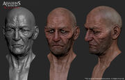 AC4 Laurens Prins face modelling by threedsquid
