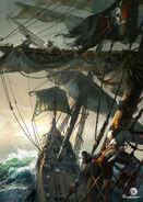 ACIV Pirates Mât Tempête concept