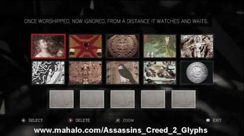 Assassin's Creed 2 Walkthrough - Glyph Puzzle 19 HD