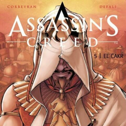 <i>Assassin's Creed 5: El Cakr</i> preliminary cover