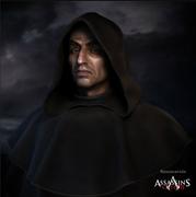 Savonarola promotional art by Michel Thibault
