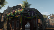 AC3L Mardi Gras decoration