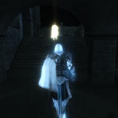 Ezio prenant Giuletta en filature