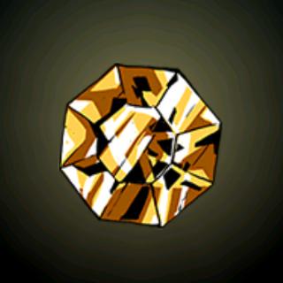 金黄的黄玉 - 只有最稀有的黄玉财有金块的光泽。