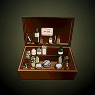 医疗箱 - 船舰上最珍贵的东西。这木箱装的药物可以拯救许多生命...除非文盲混淆这些要的用途。