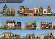 ACRG New York Houses - Concept Art