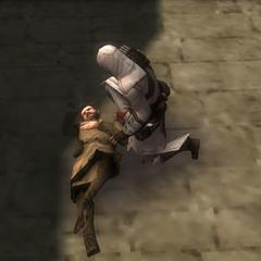 阿泰尔发现亚历山大的尸体