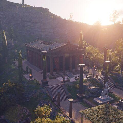 村中的阿尔忒弥斯神殿