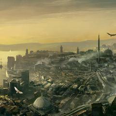 君士坦丁堡全景
