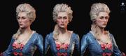 Marie Antoinette - Head Renders