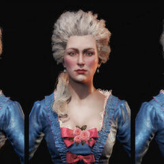 Head renders of Marie Antoinette