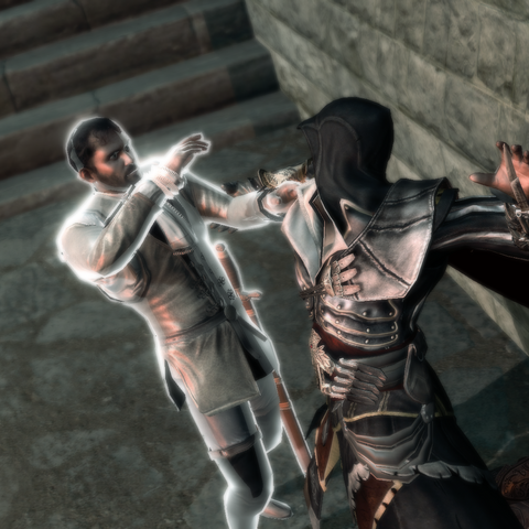 Ezio assassinant le peintre