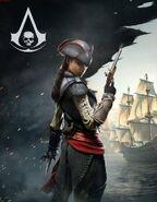 Aveline de Grandpre ACIV Black Flag immagine promozionale