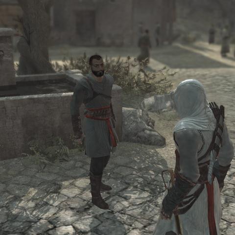 拉乌夫迎接从所罗门圣殿归来的阿泰尔