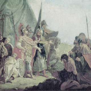 Alexander during the Battle of the Hydaspes