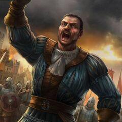 Bartolomeo en plein combat