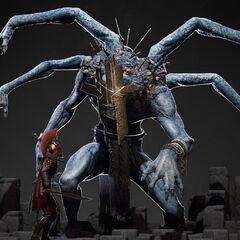 百臂巨人的模型