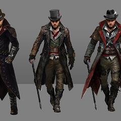 雅各布的几套不同的服装