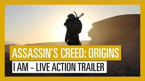 Assassin's Creed Origins I AM live action trailer