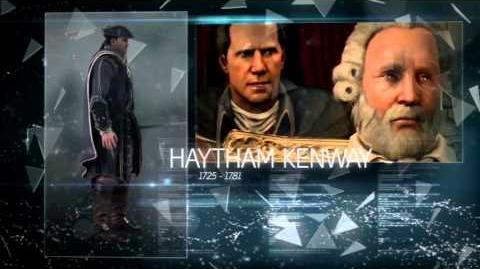 AE files:Haytham Kenway