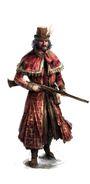 Byzantine Gunman Artwork