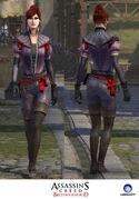 Dama Rossa - In-game Models