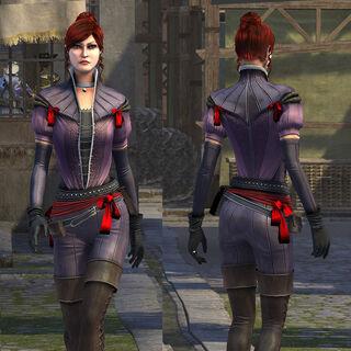 红发女模组形象