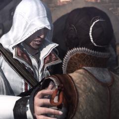 Ezio retrouvant Cristina