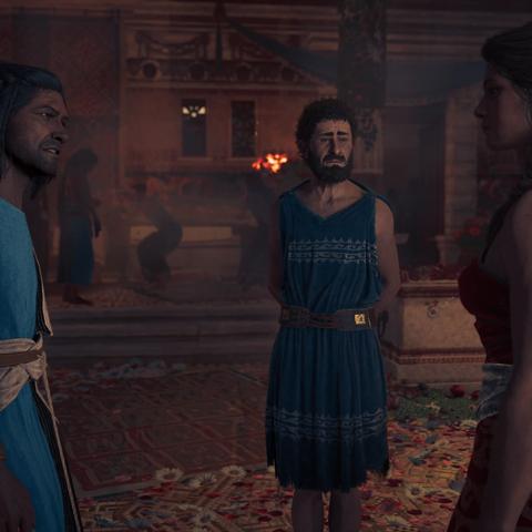 普罗泰戈拉与卡珊德拉和赫尔米波斯
