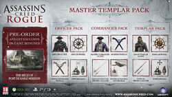 AC Rogue Master Templar Pack