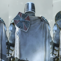 The Crusader's accessories