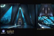 ACIV Abstergo Entertainment Aquarium concept