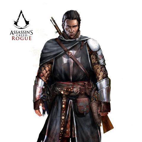 穿着詹姆斯·冈恩爵士盔甲的谢伊概念图