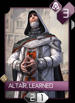 ACR Altaïr, Learned