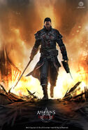 ACRogue Shay fiamme artwork