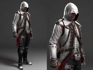 Early version on Connor Kenways outfit